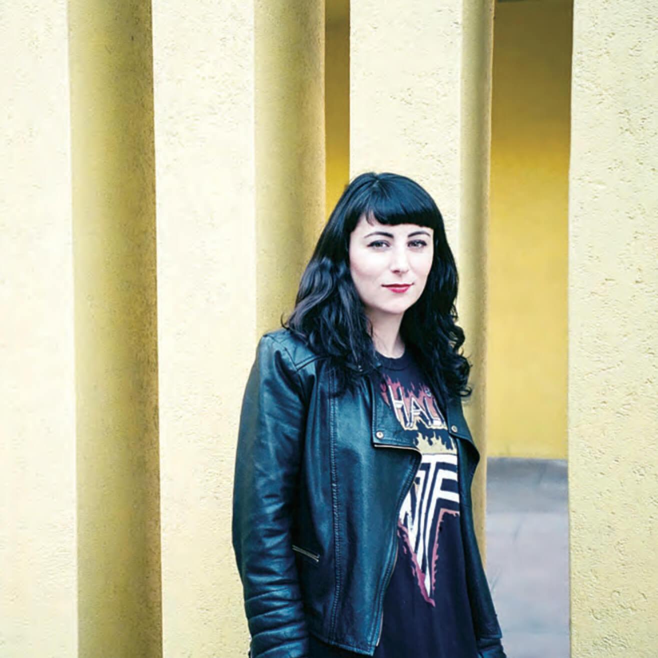 Emmanuelle Rienda, founder of Vegan Fashion Week